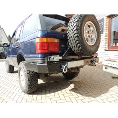 Rear Bumper with Spare...
